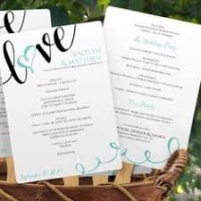 Design Your Own Wedding Program Use Your Home Computer To Create Your Own Wedding Programs Our