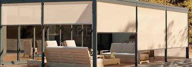 brown rectangle modern fabric roll up sun shades stained