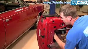 How To Replace Exterior Door by How To Install Replace Outside Door Handle Chevy Camaro Iroc Z