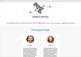 Marriage Invitation Websites Free Wedding Websites Wedding Planning Tools Mywedding Com