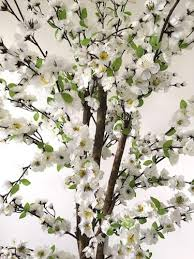 artificial blossom tree white 5ft florist wedding and craft