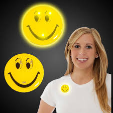 happy thanksgiving smiley face led smiley face blinky 12 pack