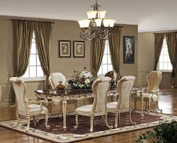 traditional dining room pink curtains very classy decor igf usa