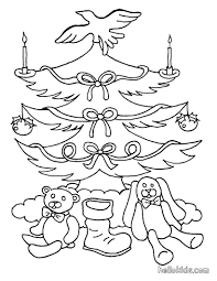 xmas tree vintage ornaments coloring pages hellokids com