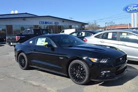 Mustang Gt Black 2017 Ford Mustang Gt Premium With Navigation U0026 Gt Performance