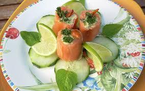 assiette cuisine recette assiette de saumon farci truite et avocat maison 750g