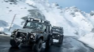 land rover truck james bond the insane land rover defender svx is more of a stuntman than a