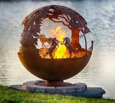 Unique Fire Pits by Unique Fire Pits Are Custom Art For Your Yard Or Patio