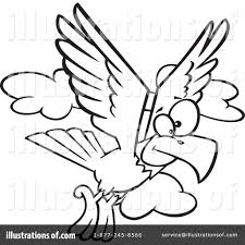 eagle clipart 1122038 illustration by toonaday