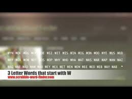 2 letter words that start with w best template collection