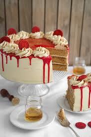 bourbon vanilla layer cake sprinkle bakes