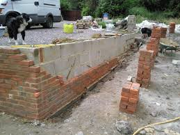 Building A Raised Patio With Retaining Wall by Brick Garden Wall Retaining Wall Built By Southampton Builder