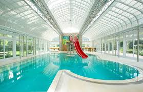 mansion indoor pool with slide with mansion with indoor pool with