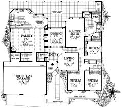 pueblo style house plans santa fe house plan 4 bedrooms 2 bath 2945 sq ft plan 68 126