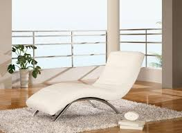 Chaise Lounge Armchair Design Ideas Modern Bedroom Ideas With Maple Wooden Floor And White Chaise