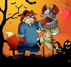 Animated Halloween Graphics by Zootopia Halloween Gideon Grey Vs It By Fairytalesartist On Deviantart