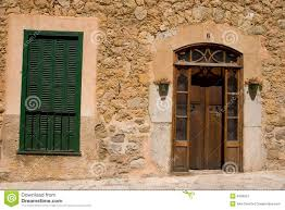 typical spanish house exterior stock image image 6409901