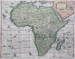 Ancient Map Of Africa by Prints Old U0026 Rare Africa Page