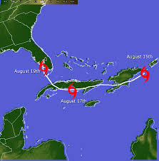 Caribbean Weather Map by Tropical Storm Fay Event Summary
