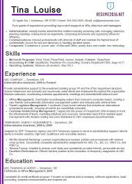 resume format for administration administrative assistant resume samples 2016 choose it