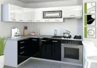 cuisine direct fabricant cuisine equipee noir et blanc fresh ahuri cuisine equipee ikea