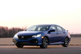 2017 honda civic sedan honda debuts its first ever turbocharged civic si coupe and sedan