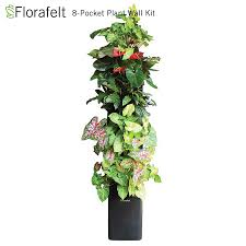 Garden Wall Systems by Florafelt Compact Vertical Garden Kit Green Living Plant Wall System