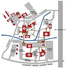 State College Pa Map by Campus Map Bladen Community College
