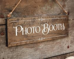 rustic chic wedding photo booth wood photo prop