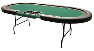 poker table with folding legs dealer tray race track poker table with folding legs 96 inch tables
