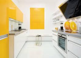 Yellow Kitchen Cabinet Modern Kitchens 5 Bright Design Trends