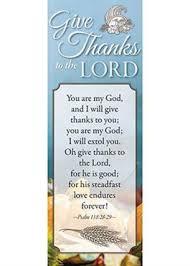 thanksgiving bookmark en novalis