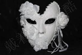 black and white masquerade mask venice mask masquerade masks for and plumage flower