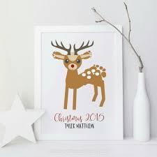 reindeer footprint 26 best holidays images on ba