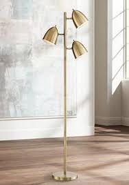 Addison Floor Lamp Gold Contemporary Floor Lamps Lamps Plus