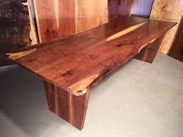 Live Edge Boardroom Table Claro Walnut Slab Custom Boardroom Table Conference Table