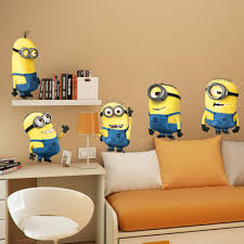 wall decal stickers 2 roselawnlutheran 2015 new christmas cartoon despicable me 2 minion wall stickers removable home decor decals sticker wallpaper