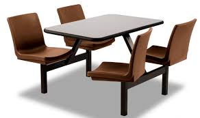 outdoor chair with table attached dining table rectangular fixed with attached chair oasis