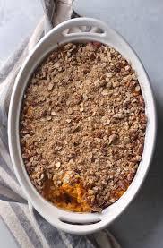 vegan sweet potato casserole hummusapien