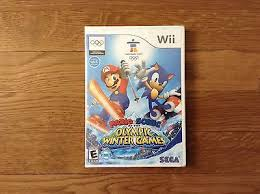 mario sonic at the olympic winter nintendo wii 2009