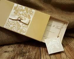 Wedding Invitations Box Boxed Invitations Etsy