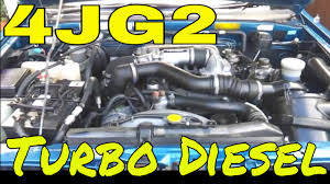 4jg2 3 1l i4 turbo diesel 3059cc rare 5 speed manual 1995 honda