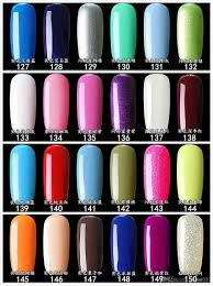the new uv led fluorescent neon nail polish candy color