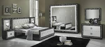 chambre à coucher complète chambre à coucher complète noir blanc modiva