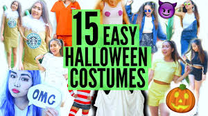 halloween costume ideas diy easy diy last minute easy halloween costume ideas fast u0026 cheap youtube