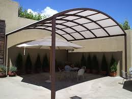 Building An Awning Over A Patio Commercial Gallery Canopies