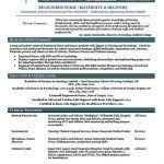 New Grad Nurse Resume New Grad Resume Template Sample New Graduate Nurse Job Resume
