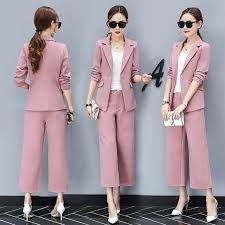 styles of work suites pant suits women casual office business suits formal work wear sets