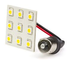 1156 led bulb single intensity 9 high power smd led lamp led