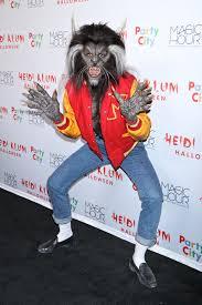heidi klum u0027s halloween costume goes dramatic as u0027thriller